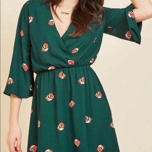 Everly Clothing Just the Fox, Ma'am A-Line Dress